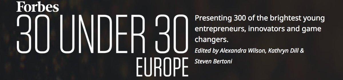 フォーブス誌が選ぶ2017年ヨーロッパの30歳以下の起業家30人にエネチェンジ共同創業者の城口洋平氏が選出 https://t.co/KLwJDdkZM7