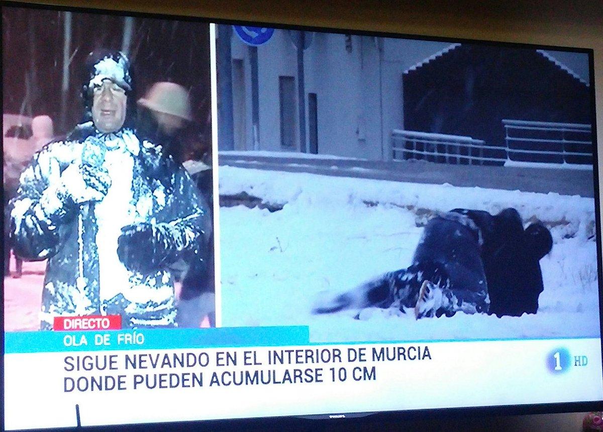 ¿Se sabe si está bien el señor de TVE que cubre la zona de Murcia? (vía @SanchezdeCastro)