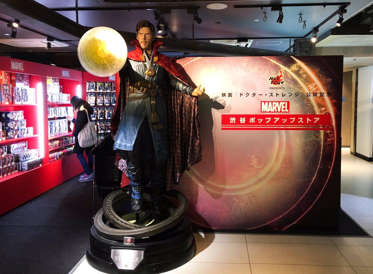 渋谷109MEN'SのMARVELポップアップストアはホットトイズからはアベンジャーズやシビルウォー、アイアンマン3をメ