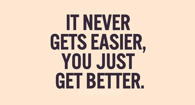 It never gets easier, you just get better. #actorslife #acting #actors #filmmaking 🎥 Agree? Pls RT https://t.co/IkROwYIhA8