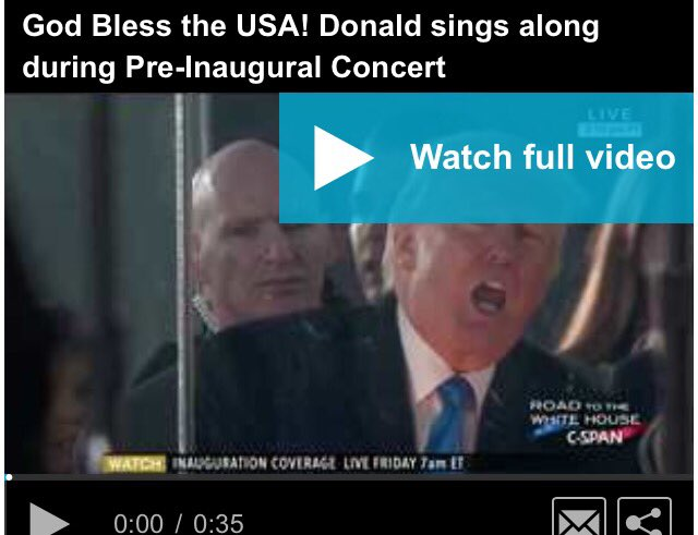 GOD Bless The USA #Trump Sings Along With Lee Greenwood  For #Democrats  This Is Like Showing A Cross To A Vampire   https://t.co/DUSfANrIZC