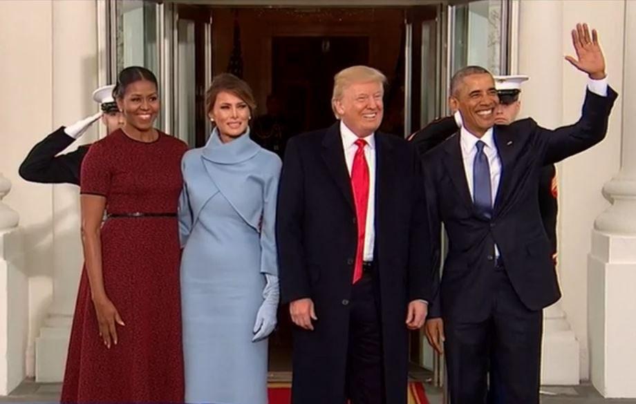 #InvestitureTrump EN DIRECT : Trump accueilli par Obama à la Maison Blanche ►https://t.co/LIyqwdeFRj
