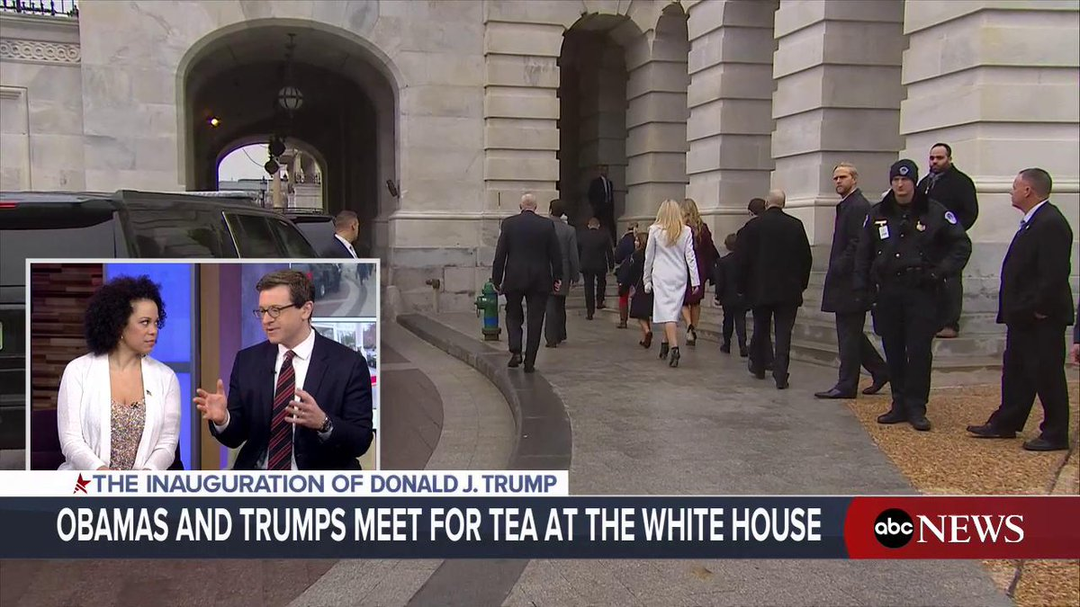 Pres.-elect Donald Trump's children arrive at the Capitol for #Inauguration Day. https://t.co/kfjKNnr8yq