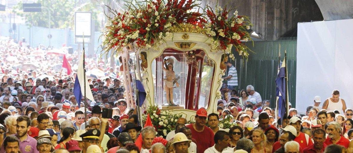 Missas e procissão celebram o dia de São Sebastião no Rio. https://t.co/1WvTBs0OXy