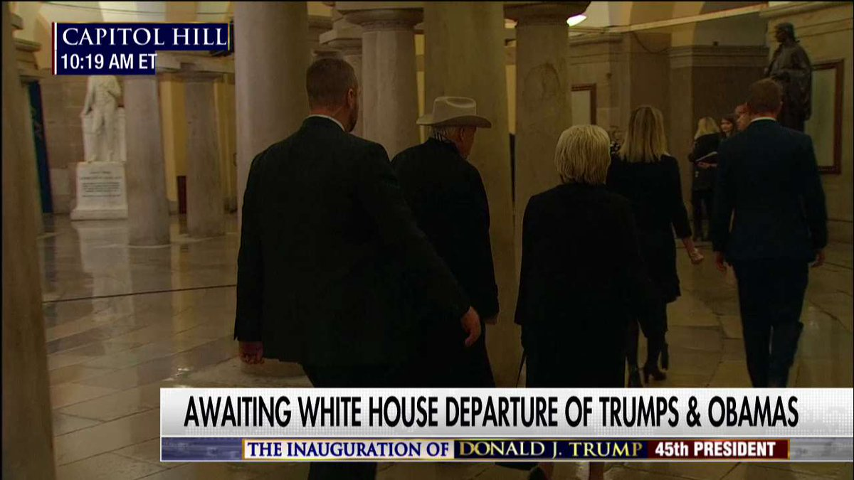 Former VP Dick Cheney arrives at #Inauguration. #Trump45