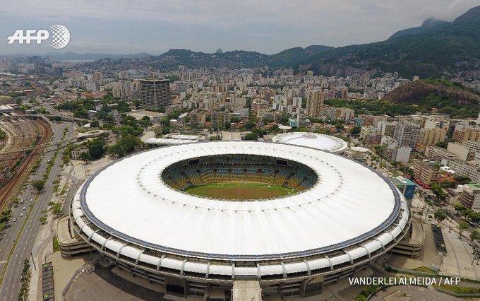 Le Maracanã, mythique stade de foot de Rio, à l'abandon #AFP