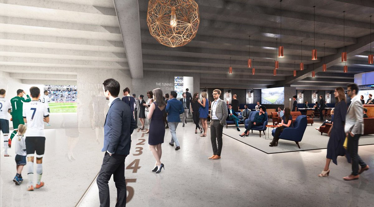 This is going to be AMAZING! #TunnelClub #SpursNewStadium