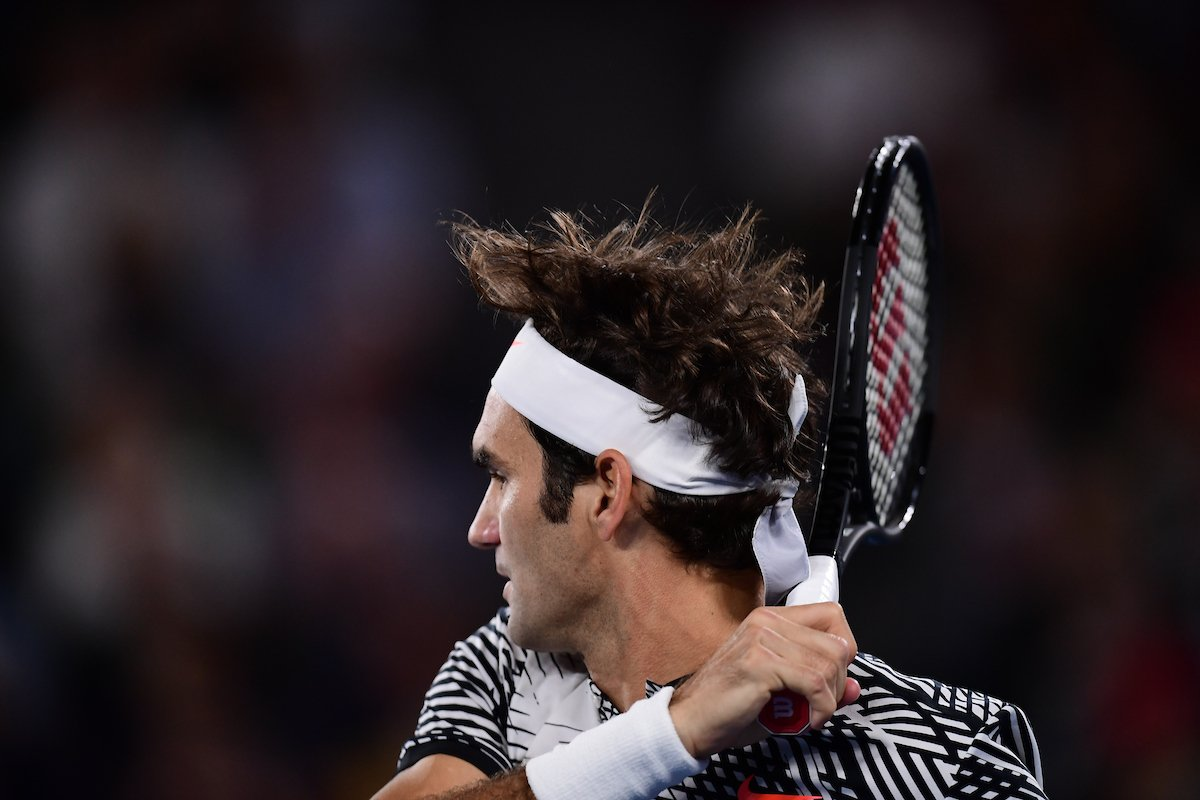 All aboard the FED express!#Federer is in fine form on RLA, taking the 2nd set 6-4 over Berdych.#AusOpen