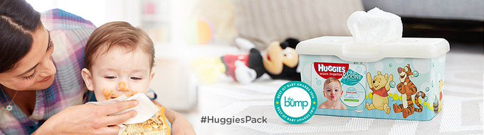 Free Huggies One & Done Wipes Chatterbox Kit  freebies