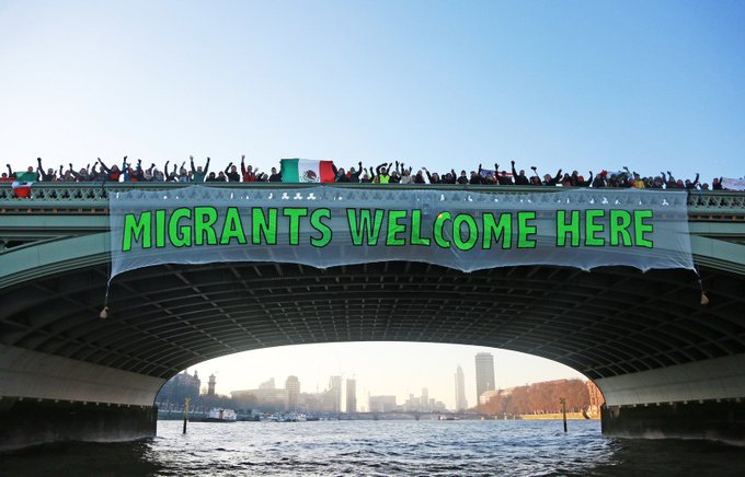More Than 150 Trump Protest Banners Are Being Dropped Over Bridges Across The World https://t.co/hElNdsQUxr