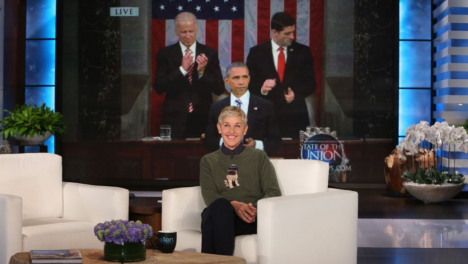 Watch: @TheEllenShow says farewell to President Barack Obama ahead of