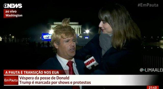 'Vesgo' do 'Pânico' engana repórter da GloboNews ao vivo; assista (Via @Emais_Estadao) https://t.co/HiqrWrqAsW