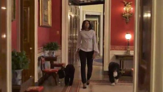 Watch Michelle Obama take one last look around the White House https://t.co/ANa9Uu1RPE