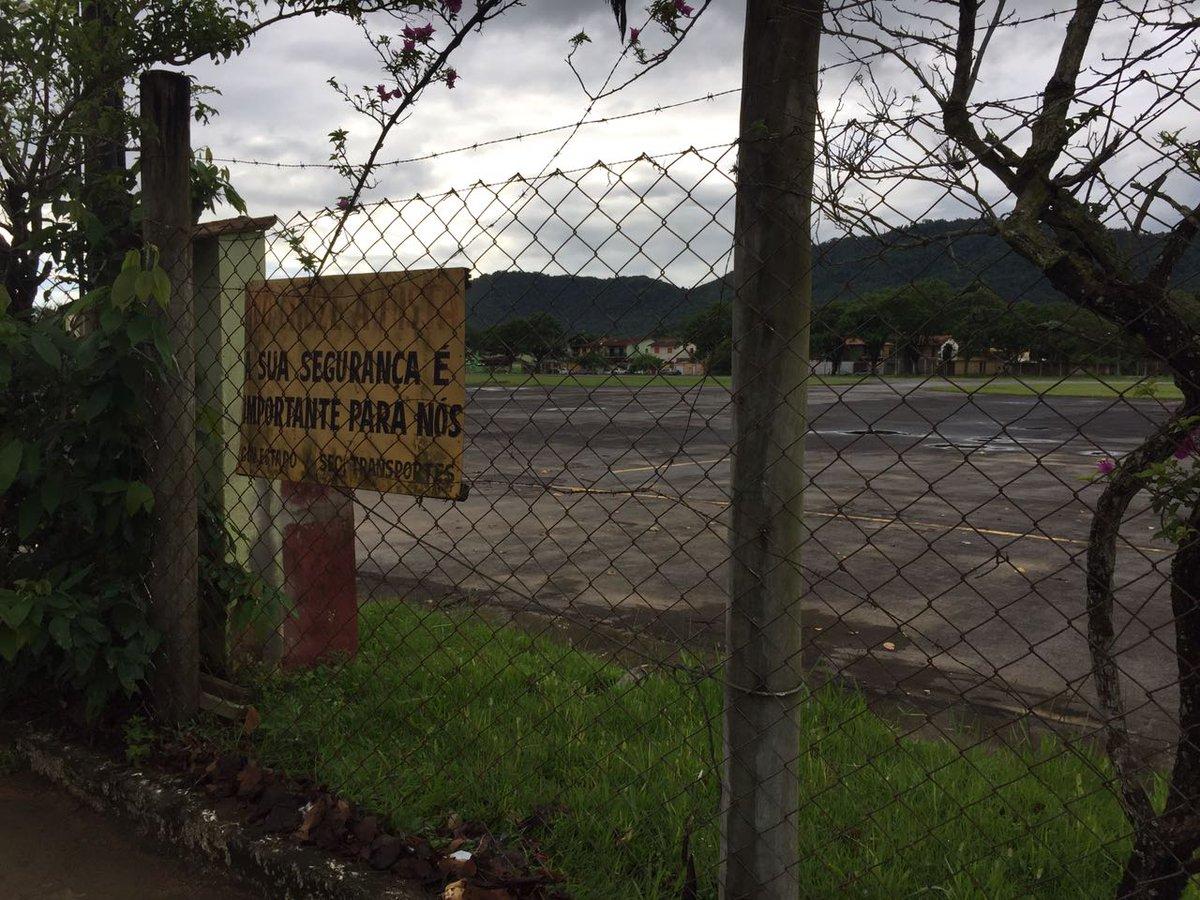 """""""Piloto já aterrissou aqui em condições piores"""", dizem vizinhos de aeroporto de Paraty"""