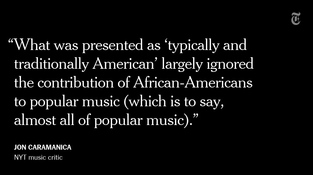 The concert for Donald Trump missed an opportunity, @joncaramanica writes