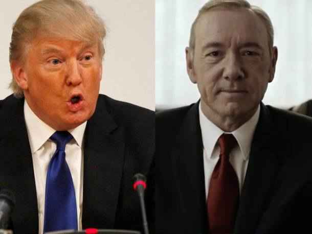 Quiz Donald Trump ou Frank Underwood, quem é o autor da frase?