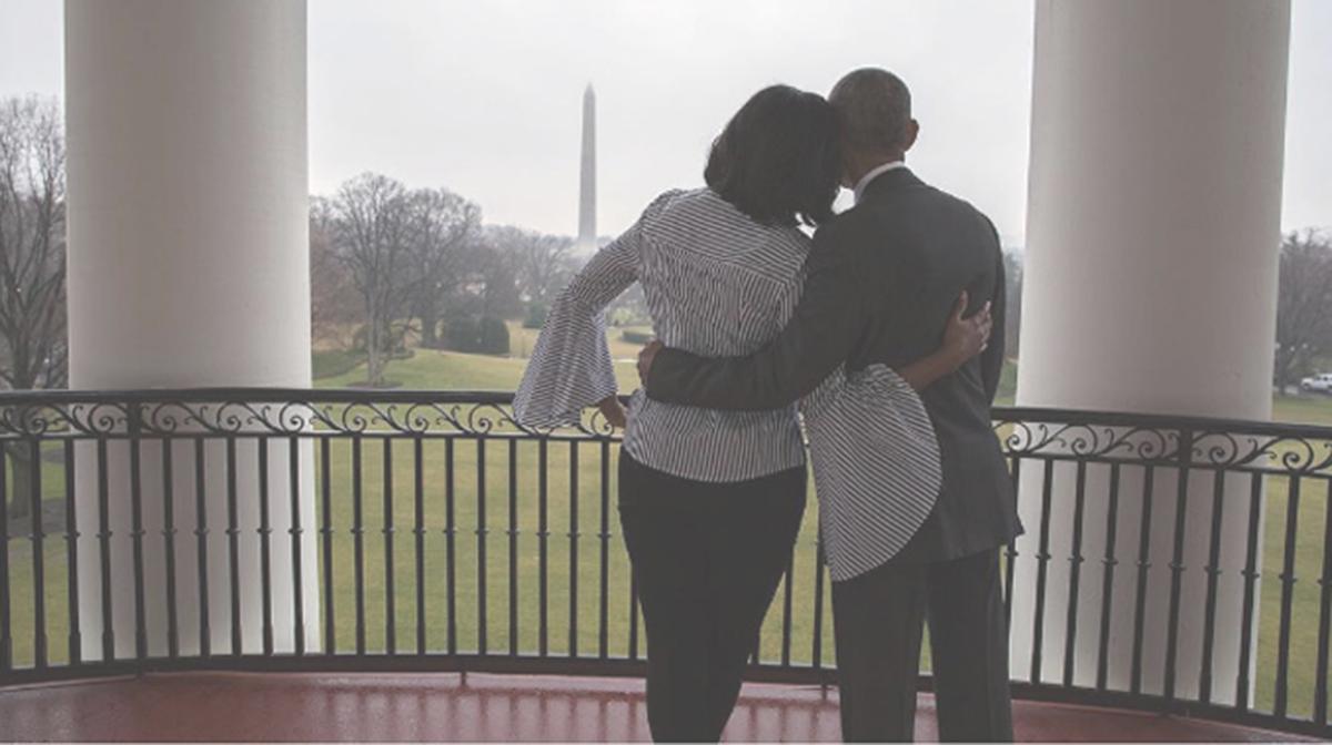La emotiva despedida de Michelle Obama de la Casa Blanca