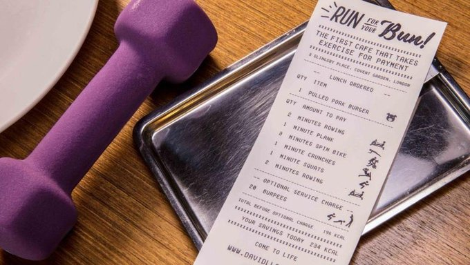 This Covent Garden café lets you pay for lunch with a 10-minute workout https://t.co/WKBNoDk80p