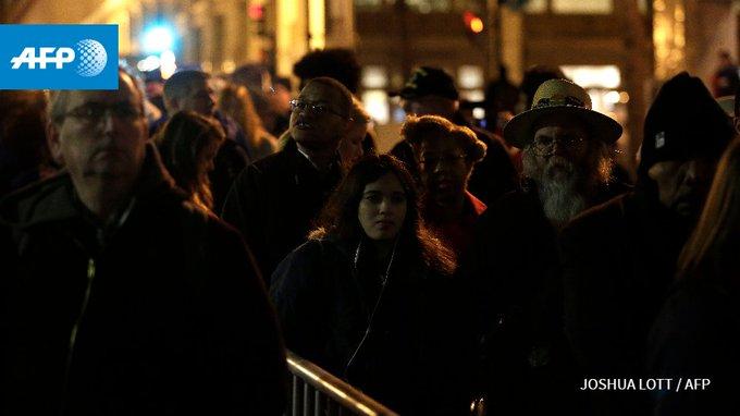 Tous les yeux sont braqués sur Washington pour #InaugurationDay