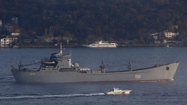 Jusqu'à onze navires de guerre russes pourront désormais s'amarrer dans le port de #Tartous en #Syrie https://t.co/xkRCKkxYXF