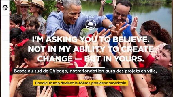 Barack et Michelle Obama annoncent le lancement de leur fondation https://t.co/gz7ZT5i5CP #BarackObama