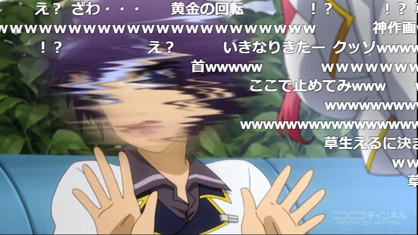 #1億3千万人が選ぶアニメ名シーン笑いたい時にオススメのシーンです(第1話)。聖剣使いの禁呪詠唱(ワールドブレイク)