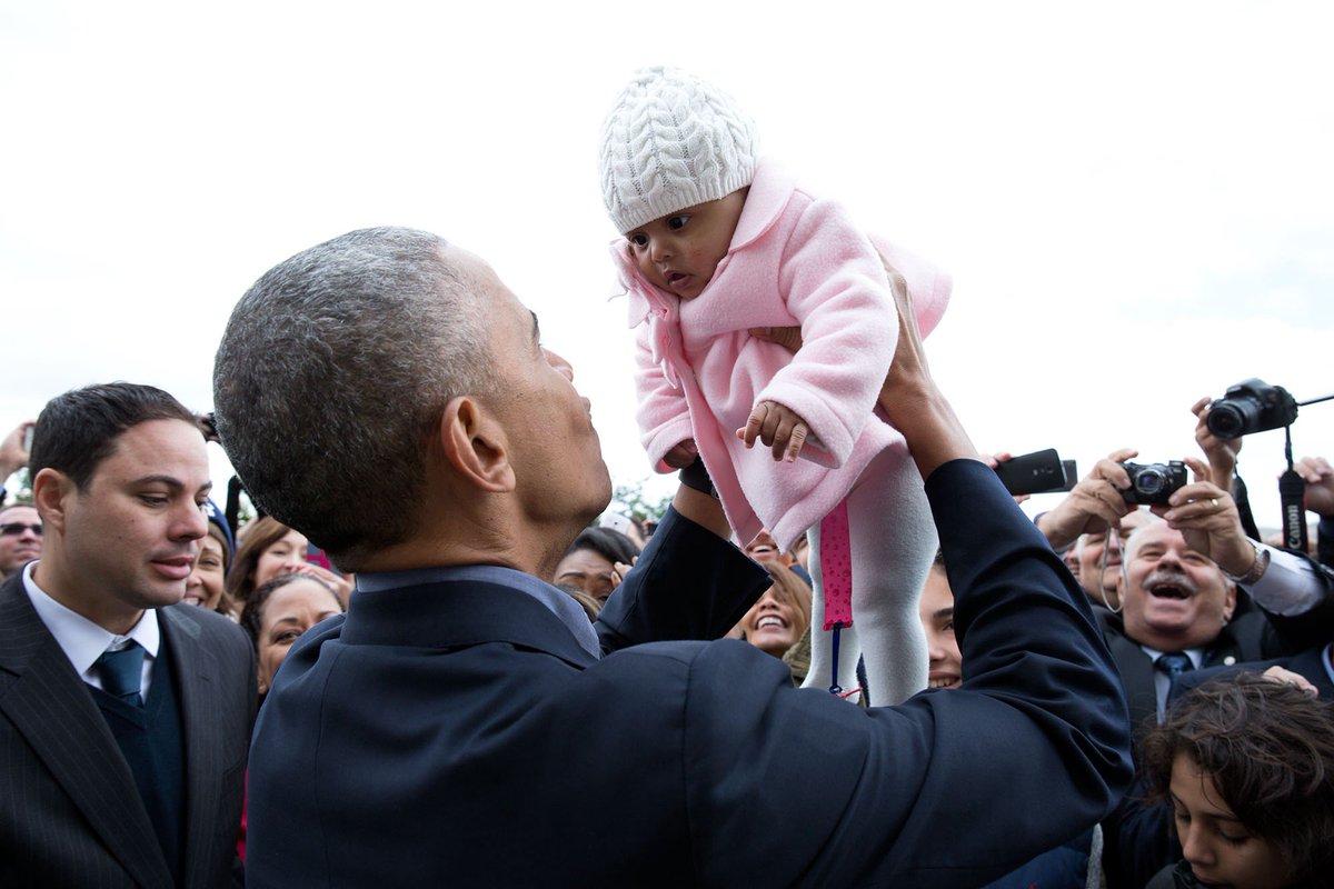 Ma photo préférée de ces dernières années Obama.  16 Novembre 2016 En Grèce via P.Souza/White House