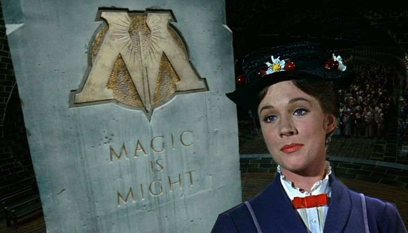 Harry Potter fans, Mary Poppins apparently worked for The Ministry of