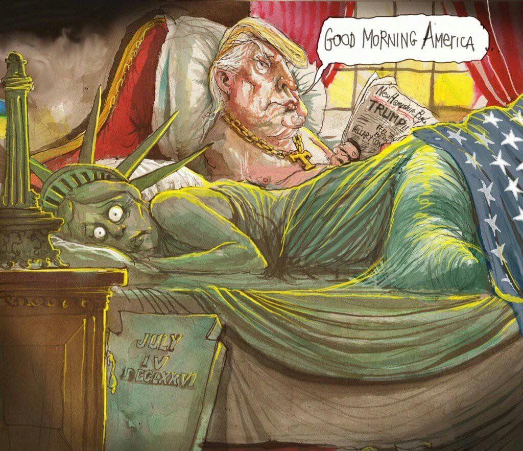 RT @NEVENKAWARNING: Good Morning America  #TrumpPresidente  #TrumpPresident  #Inauguration https://t.co/nMkCPp5ojo