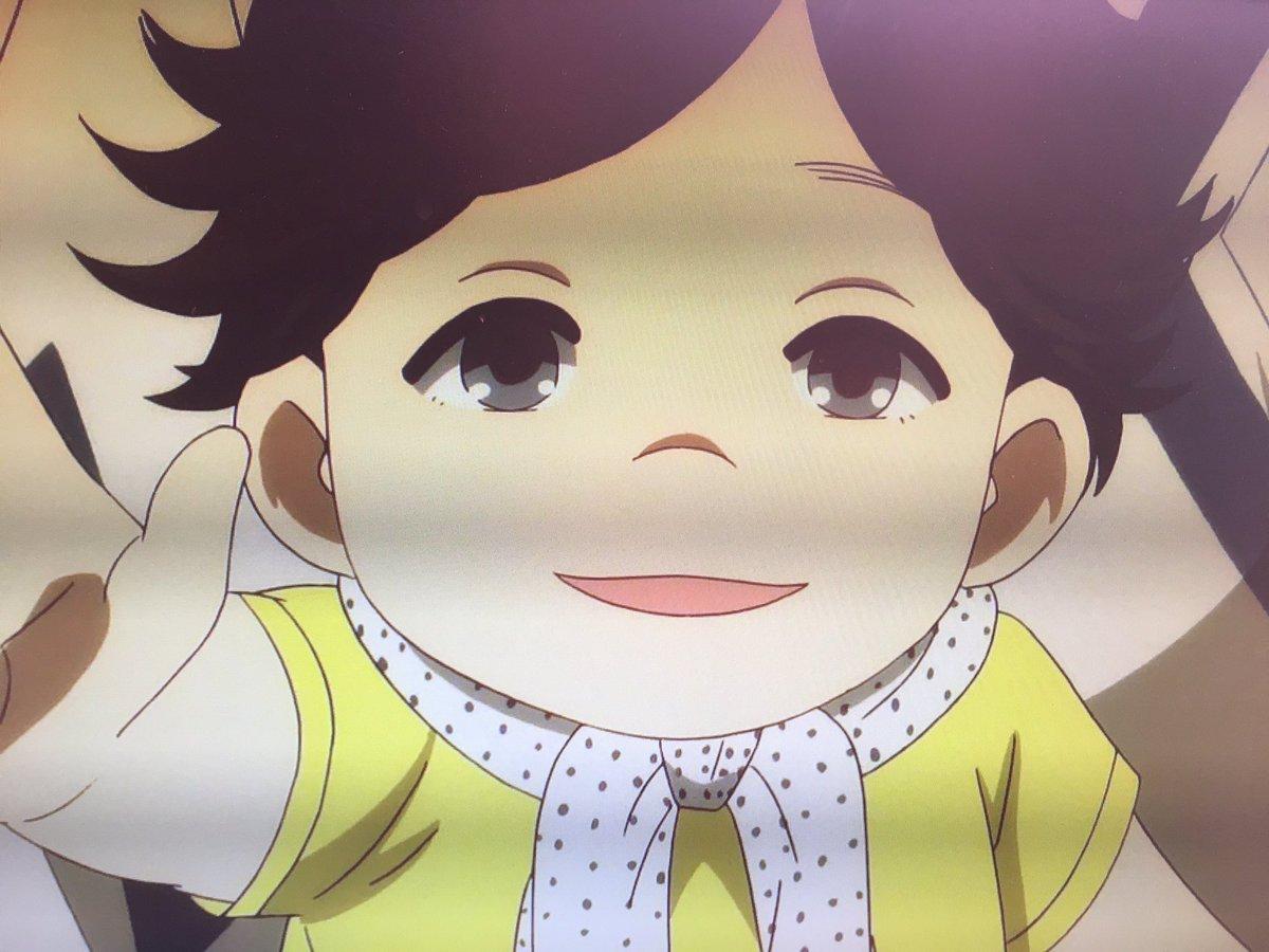 昭和元禄落語心中に出てくる赤ちゃん二宮くんみたい