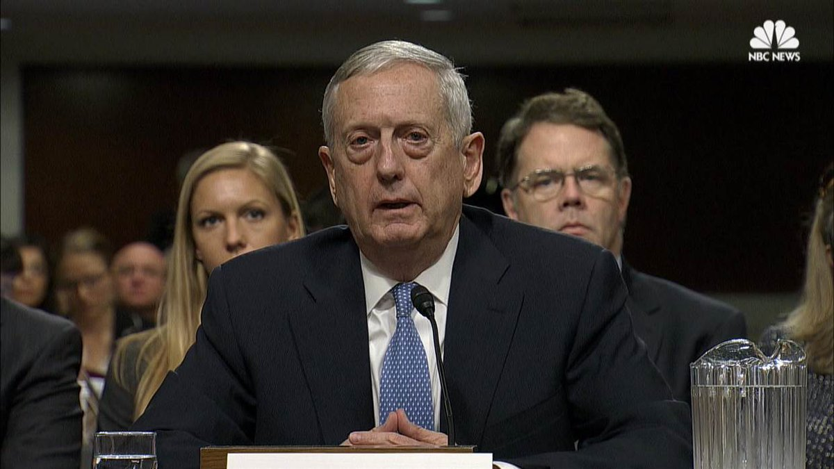 BREAKING: US Senate confirms retired Gen. James Mattis as US Defense secretary.