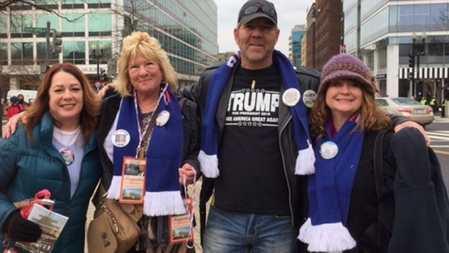 Trump supporters from across America cheer 'outsider' taking charge https://t.co/yprQk2y9tQ