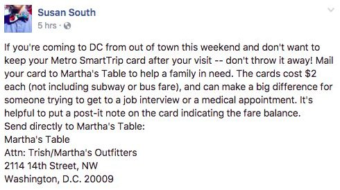 This is a great tip for people visiting Washington DC today and over the weekend. (via @arlusk)