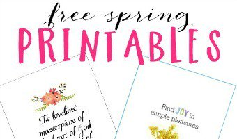 Free printables just in time for spring!freebie spring