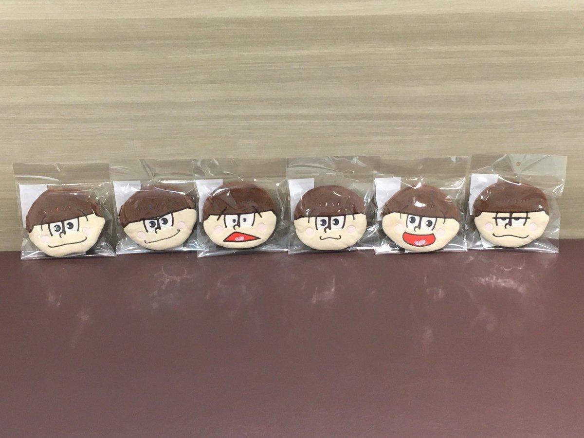 【「○松さん」おそ松さん×THEキャラSHOP池袋マルイ店】本日、イベント先行商品「ドアップポーチ」が入荷いたしました!