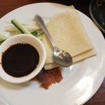 初めて食べたカリメロおすすめの北京ダックおいしくなかった