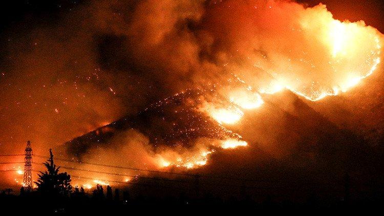 Chile declara el estado de catástrofe por fuertes incendios forestales https://t.co/JUPUqP698X