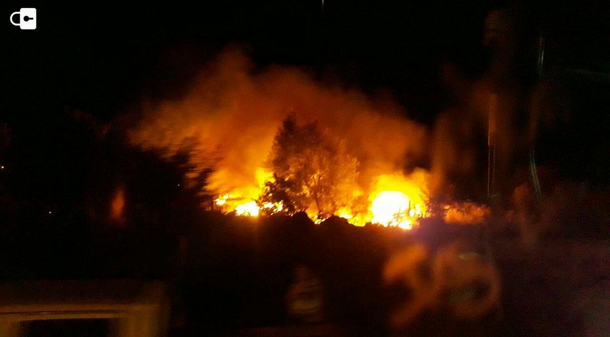 🔴 AHORA | Alarma general en Chillán por incendios en km 3 y 6 camino a Las Mariposas.