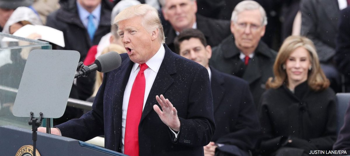 Full text of President Trump's Inaugural Speech as 45th president of the U.S.: 'We will make America great again.' https://t.co/4nOSqC1gD0