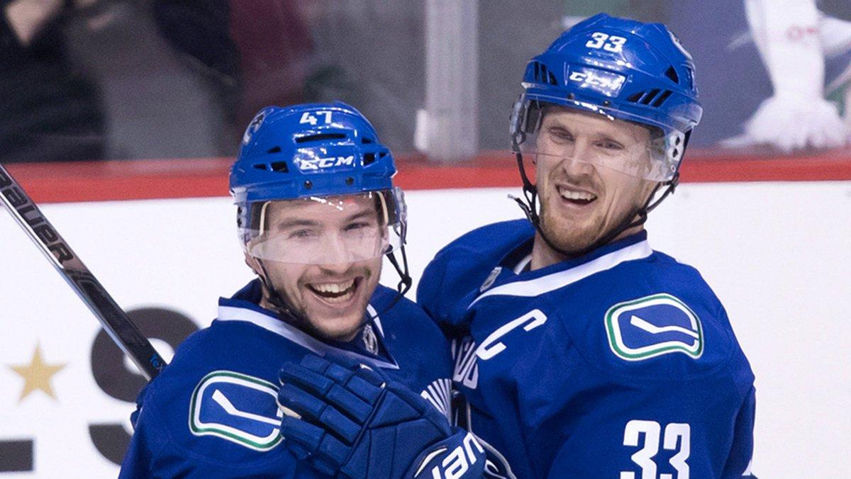 Vancouver Canucks captain Henrik Sedin records 1,000th NHL point
