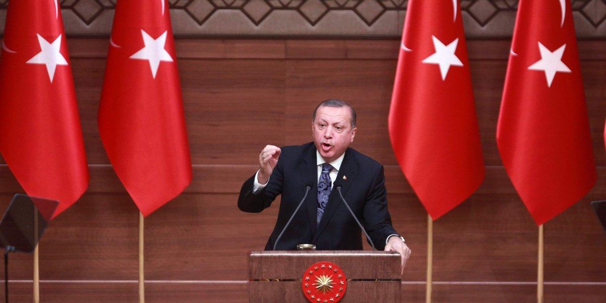 Le Parlement turc approuve le renforcement des pouvoirs d'Erdogan https://t.co/B5UfvorT05