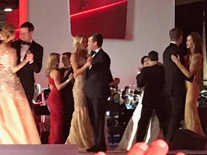 Dancing with @mrsvanessatrump at The Inaugural Ball. #maga #trump #america #usa #trump45 #inauguration