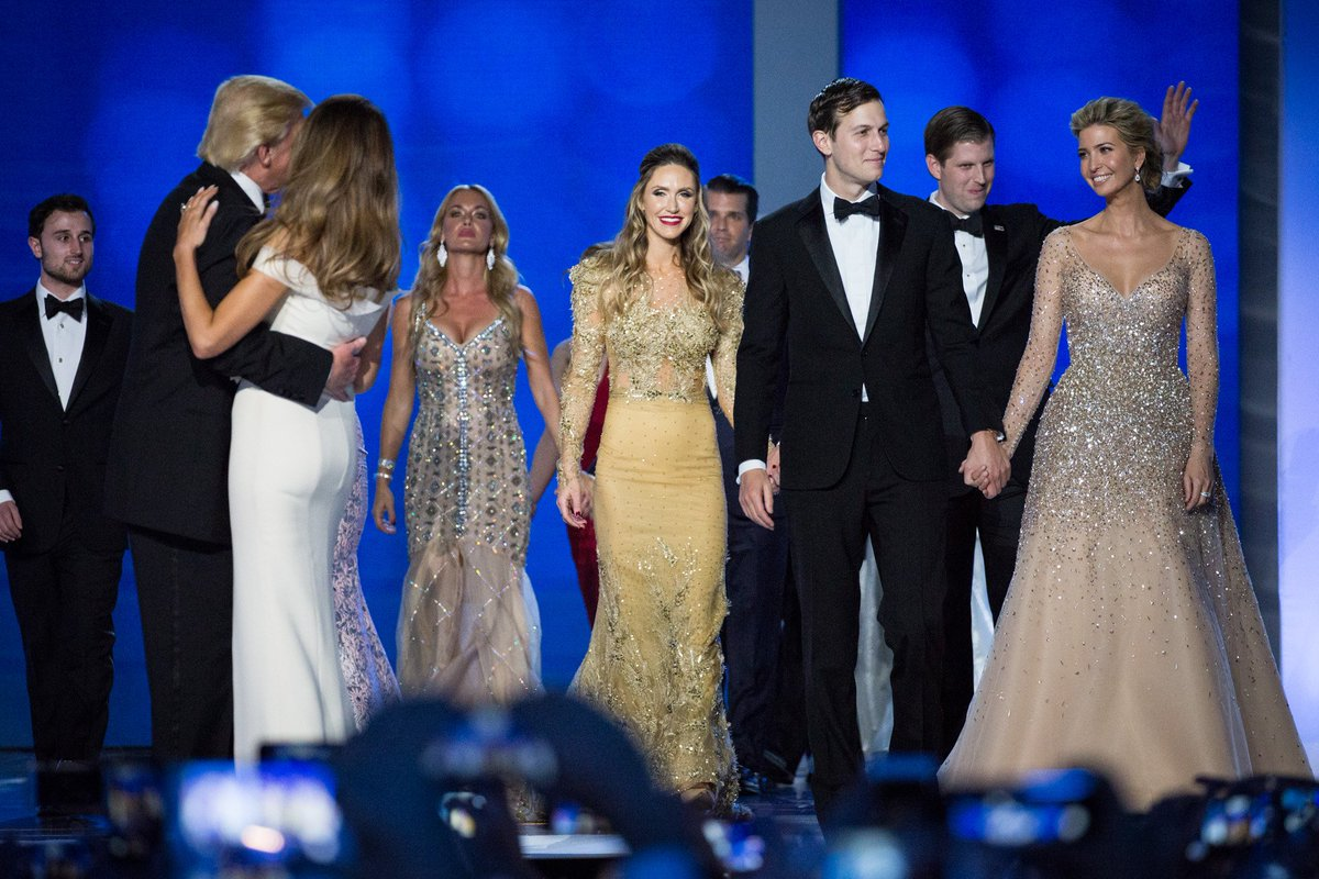.@POTUS and his family dance at the Freedom Ball. #Trump45 #inauguration