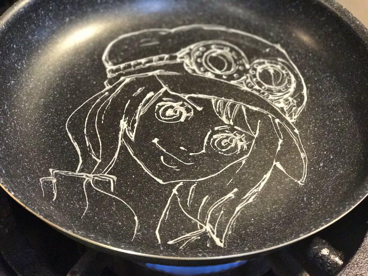 パンケーキアートの作り方〜 ワンピース コアラ ONE PIECE Koala #パンケーキアート #pancakear