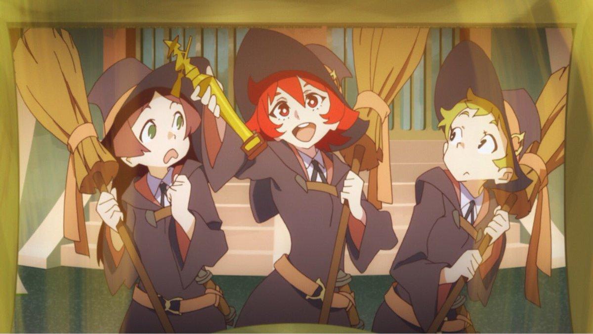 明日1/22はTVアニメ『リトルウィッチアカデミア』第3話「Don't stop me now」がTOKYO MX(24