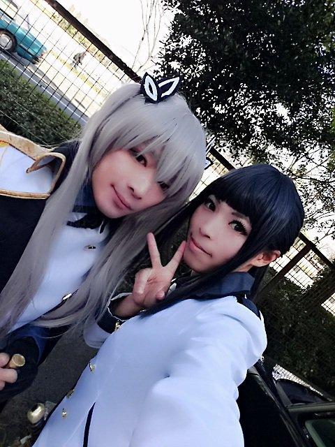 約1週間たっちゃったけど、こみトレの時の写真あげとくL('▽')/クオリディア・コード神奈川首席  天河舞姫#こみトレ2