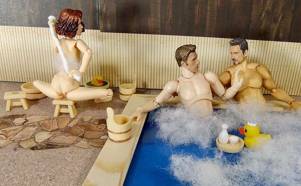 エポック あひる温泉アベンジャーズ温泉に行く