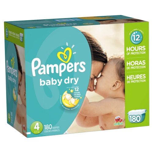US #Baby No.9 Pampers Baby Dry Diapers Size 4 180 Count https://t.co/cpKszJqPJl https://t.co/jMJfhl34ef