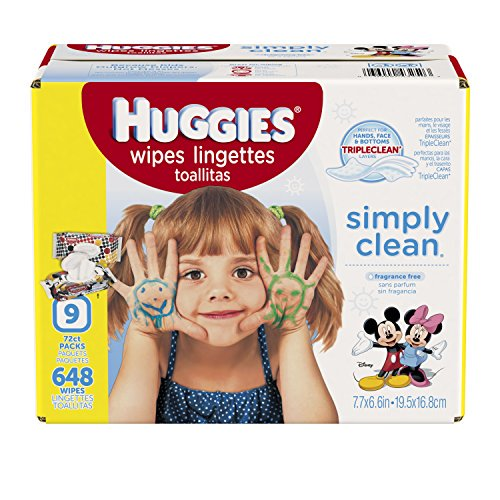 US #Baby No.7 HUGGIES Simply Clean Baby Wipes Unscented Soft Pac... https://t.co/lFROAdEk9J https://t.co/rHQ0Gd7vgc