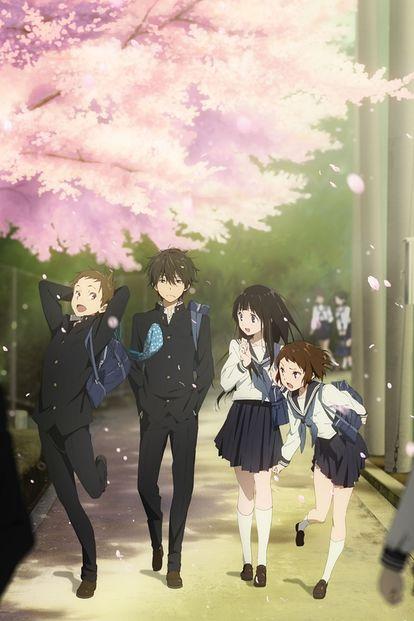 #あなたにとって思い入れのあるアニメを紹介 氷菓、凪のあすから   ですねw『なにそれ?』って感じの人もいるかもですが、